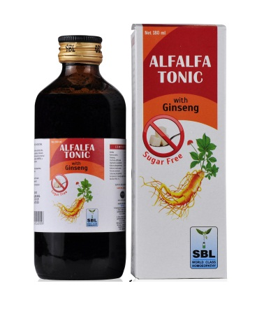 Best Sugar Free Alfalfa Tonic with Ginseng (SBL), enriched with nutrients, natural amino-acids, vitamins and minerals