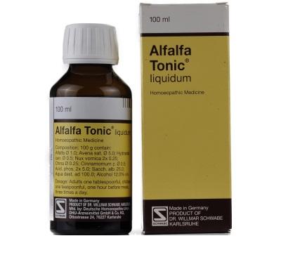 Schwabe German Alfalfa Health Tonic for energy, weight gain