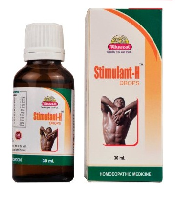 Wheezal Stimulant H Drops for erectile dysfunction, premature ejaculation, nervine tonic