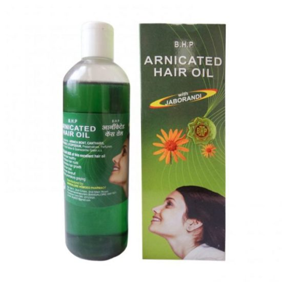 B H P Arnicated Hair Oil with Jaborandi