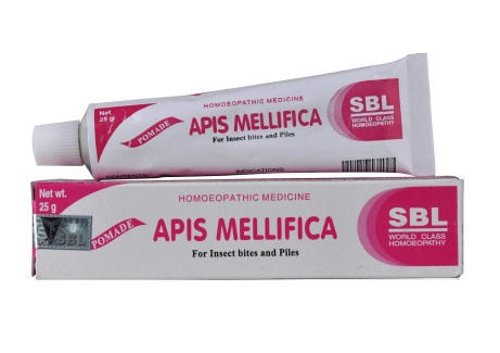 Sbl Apis Mellifica (honey bee) Pomade for Insect Bites, Piles