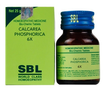 SBL Biochemic Tablets Calcarea Phosphoricum for strong bones, teeth