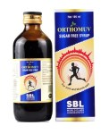 SBL Orthomuv Sugar Free Syrup for Muscle, Joint Pain, inflammation,