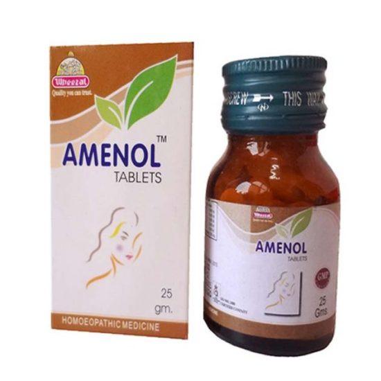 Wheezal Amenol Tablets for Amenorrhoea, Dysmenorrhoea