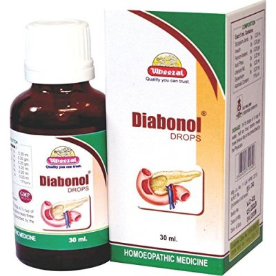 Wheezal Diabonal Drops for Diabetes Control