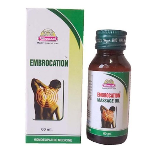 Wheezal Embrocation Massage Oil for Gout, Lumbago, Sciatica