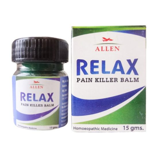 Allen Relax Pain Killer Balm - An Ideal Homeopathic Pain Reliever