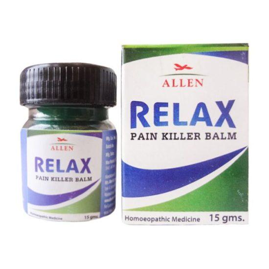 Allen Relax Pain Killer Balm - An Ideal Homeopathic Pain Reliever