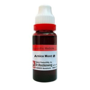 Dr.Reckeweg Arnica Montana Q, Homeopathic Mother Tincture, 20ml