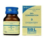 SBL Biocombination 9 (BC9) Tablets for Dysentery, 25gm