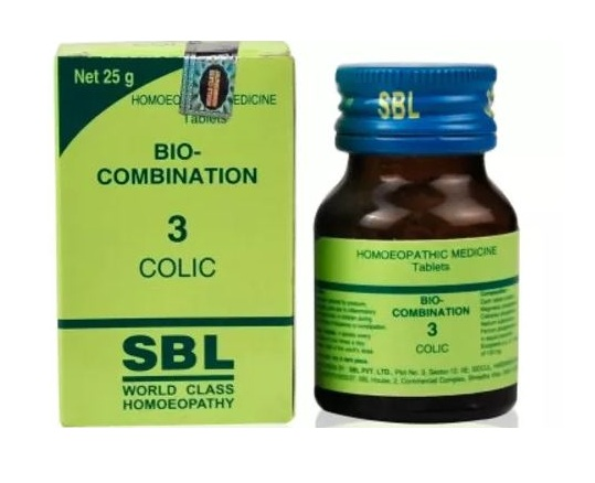 SBL Biocombination 3 (BC3) Tablets for Colic, 25gm