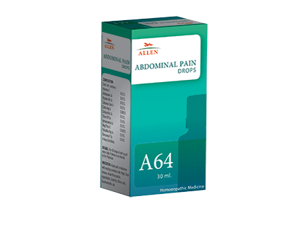 Allen A64 Abdominal Pain Drops, 30ml