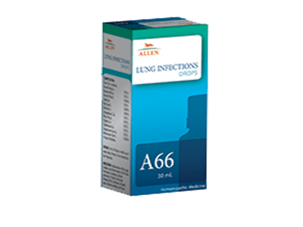 Allen A66 Lung Infections Drops, 30ml