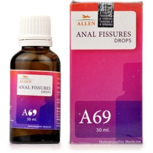 Anal Fissures medicine, Allen A69 homeopathy fissure treatment