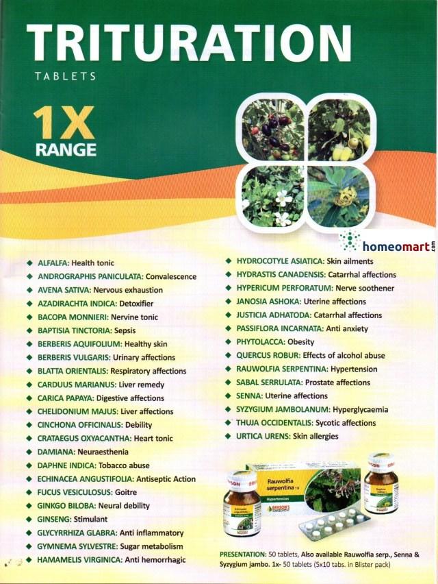 homeopathic-trituration-list-1x-range