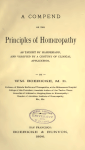 Principles Of Homoeopahy Free Book Download
