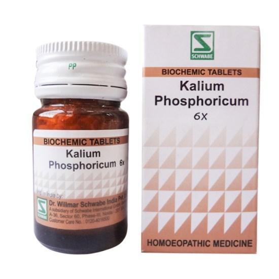 Schwabe Biochemics Tablets Kali Phosphoricum for muscle, nerve weakness