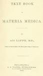 Text Book Of Materia Medica Free Book Download
