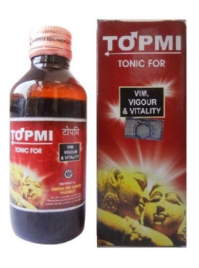 BHP Topmi Tonic for Vim, Vigour and Vitality, 100ml
