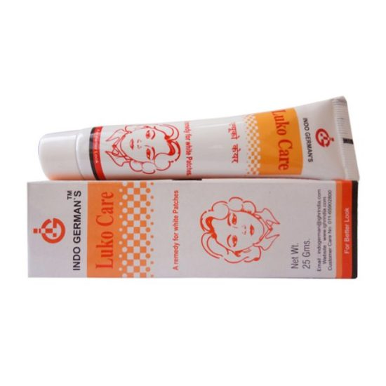 Indo German Luko Care for Leucoderma, Vitiligo, White Patches on Body due to the Deficiency of Pigment