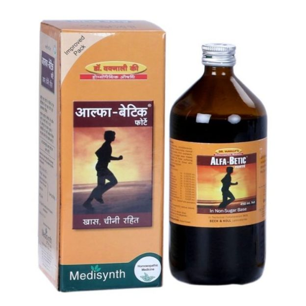 Medisynth AlfaBetic Forte - Health Restorative Tonic in Non Sugar Base
