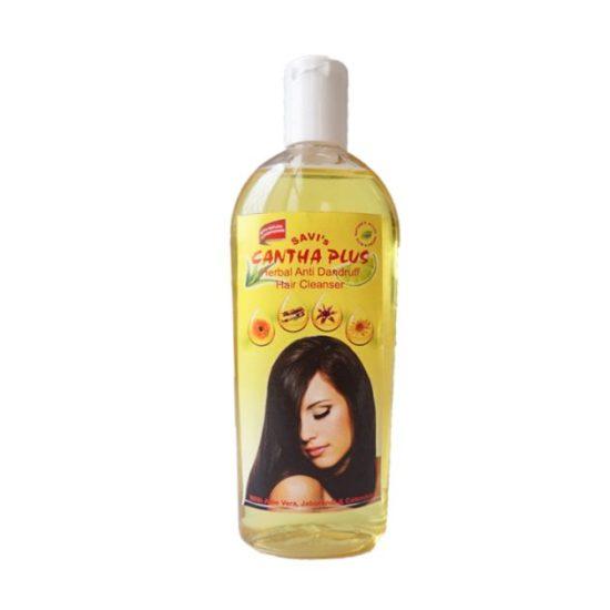 Homeopathic Anti-Dandruff Shampoo - Savi Cantha Plus Herbal