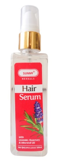 Bakson Sunny Herbal Hair Serum with Lavender, Rosemary and Jaborandi Oil