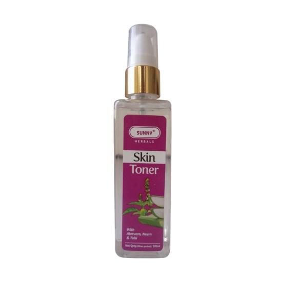 Bakson Sunny Herbals Skin Toner with Aloevera, Neem and Tulsi