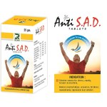 Homeopathy medicine for anxiety, tension and stress. Dr.Raj anti S.A.D tablets