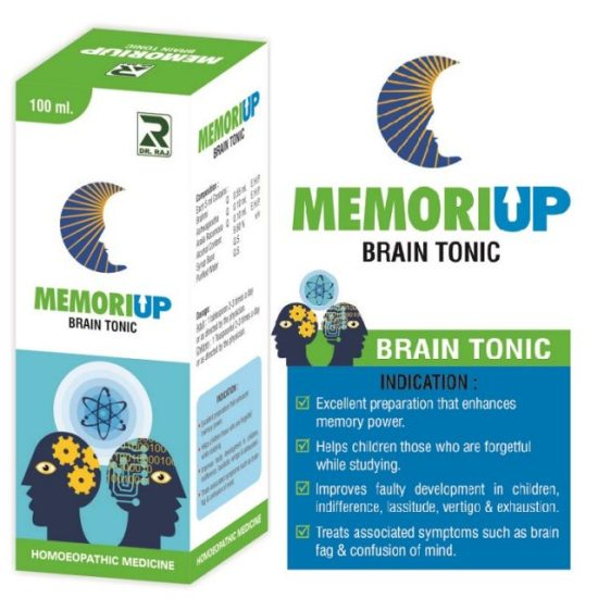 Memoriup Homeopathy medicine - brain tonic