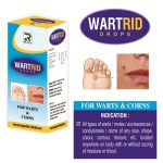 Dr.Raj Wartrid Drops Homeopathy for Warts and Corns