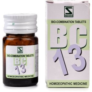 Schwabe Biocombination Tablets BC13 for Leucorrhoea