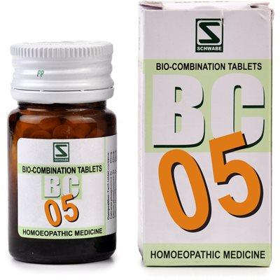 Schwabe Biocombination Tablets BC5 Coryza