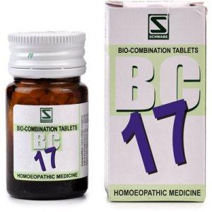 Schwabe Bioplasgen Biocombination 17 for Piles