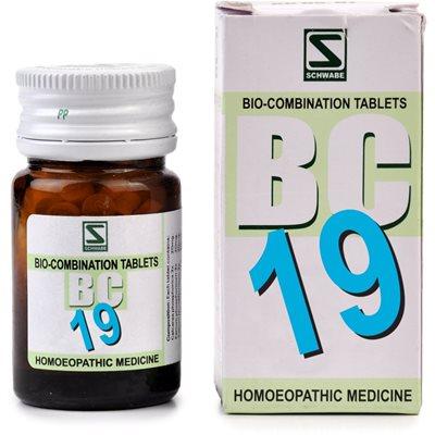 Schwabe Biocombination BC19 Tablets, Rheumatism Medicine