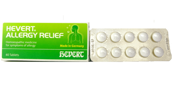 Homeopathy Allergy relief tablets, rhinitiis