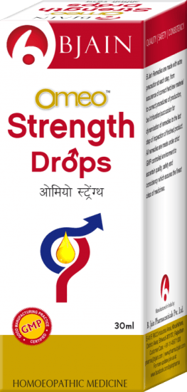 Omeo Strength Drops for erectile dysfunction, sexual weakness