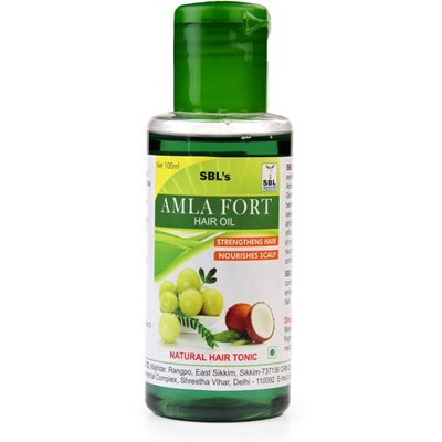 SBL Amla Forte Hair Oil Strengthen Hair and Nourishes Scalp