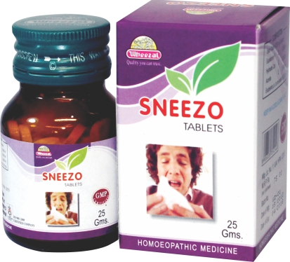 Homeopathy medicine for flu running nose, sneezing