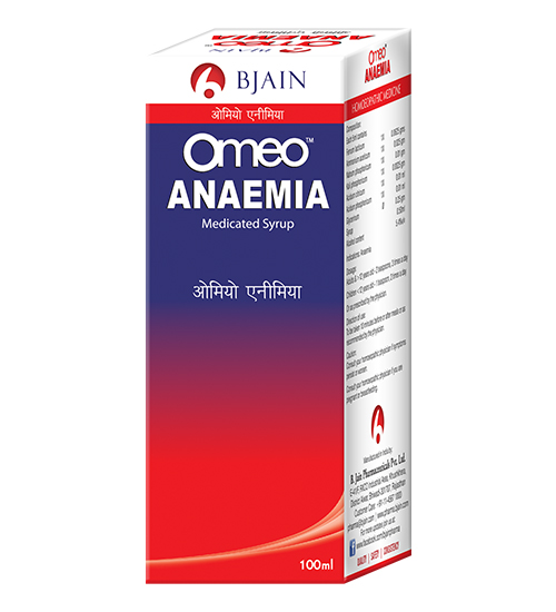 Omeo Anaemia medicated syrup, homeopathy medicine for iron deficiency
