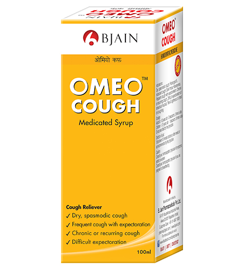 Homeopathy Cough Syrup for Dry Spasmodic cough, difficult expectoration