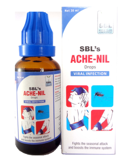 Homeopathy Medicine Ache Nil for Viral Infection, Immunity