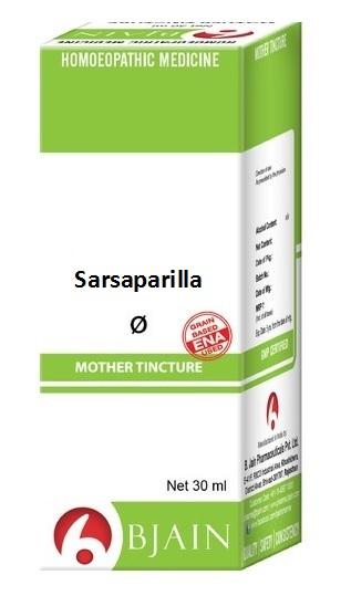 Bjain Sarsaparilla Q Homeopathic Mother Tincture