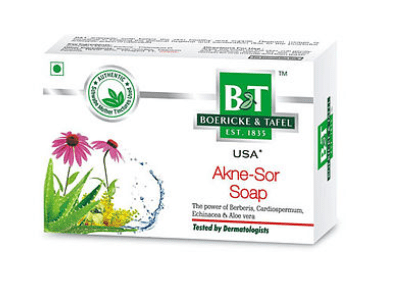 Schwabe B & T Akne Sor Soap for Acne and Psoriasis