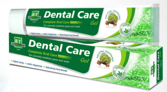 Schwabe B and T Dental Care Gel for Naturally Healthier Gums and Teeth