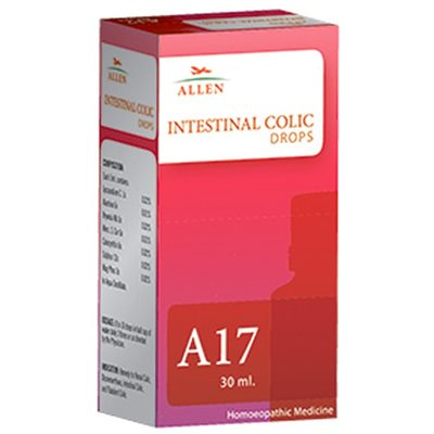 Allen A17, Homeopathic Intestinal Colic Drops, 30ml