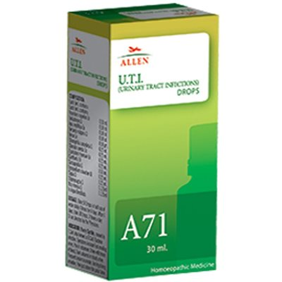 Allen A71 Drops, Homeopathic Urinary Tract Infections (UTI) Medicine