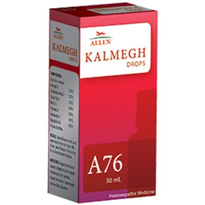 Allen A76 Homeopathy Kalmegh Drops for Sluggish Liver, Loss of Appetite, Indigestion, Jaundice, Hepatic Dysfunction