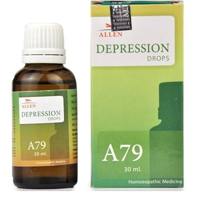 Allen A79 Homeopathic Drops for Depression, 30ml
