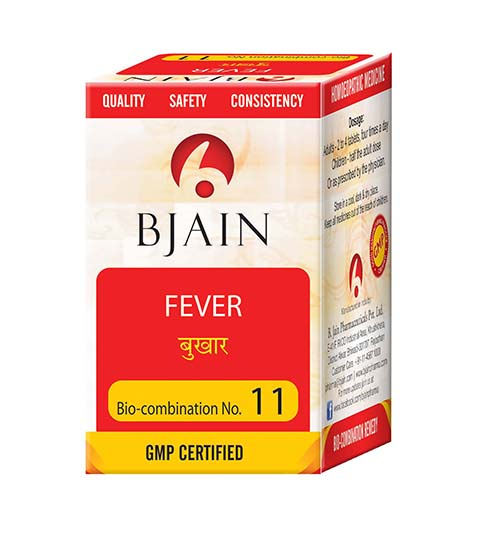 Bjain Biocombination No 11 Tablets for Fever